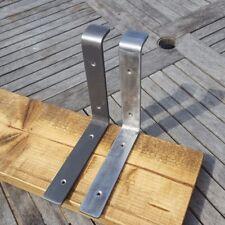 1 x Rustic Handmade Shelf Brackets.*scaffold  Board brackets.