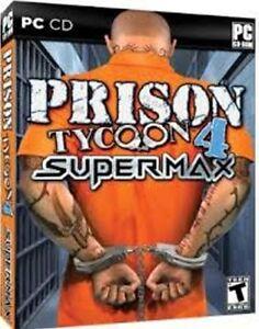 Prison Tycoon 4 Supermax  Build a profitable privately run prison  New in Box