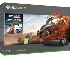 Xbox One X 1TB Forza Horizon 4 and Forza Motorsport 7 Boxed NEW