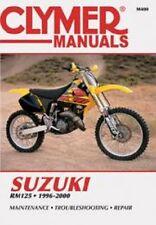 Clymer Repair Service Shop Manual Vintage Suzuki RM125 96, 97, 98, 99, 00