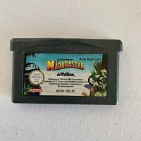 Madagascar Nintendo Gameboy Game Cartridge Only - Free Postage