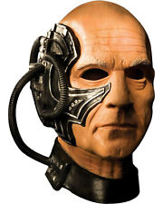 Morris Costumes Ultimate Biomechanical Star Trek Latex Locutus Mask. RU68236
