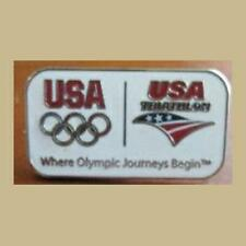 USA TRIATHLON OLYMPIC PIN RIO OLYMPICS NEW GWEN JORGENSEN GOLD MEDAL ATHLETE