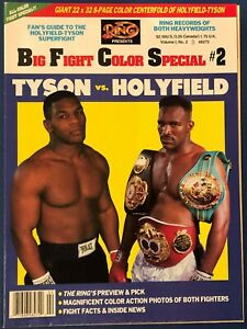 Vintage Big Fight Color Special #2 Super Fight '91 Evander Holyfield Mike Tyson