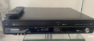 Panasonic DMR-EZ48V DVD & VCR Recorder Combo Freeview Copy VHS to DVD Remote VGC