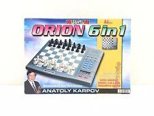 Millenium Chess School Intelligent Chess Anatoly Karpov 6 in 1 VGC FREE UK POST