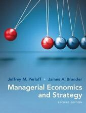 Managerial Economics and Strategy by James A. Brander and J. Perloff (Ebook PDF)