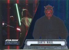 Star Wars Evolution 2016 Blue Parallel Card #94 Darth Maul - Sith Apprentice