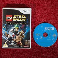 LEGO STAR WARS LA SAGA COMPLETA-Nintendo Wii ~ PAL ~ Gioco di azione
