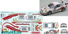 "1/43 Decal Porsche 911 GT3 Cup ""Skiclub Arlberg"" Weiland Motorsport VLN 2009"
