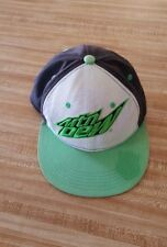 Mountain Dew Snapback Hat Cap Adjustable Soda Summer