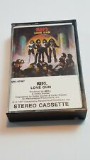 KISS Love Gun Audio Cassette 1977 Casablanca Records Rare NBL-57057