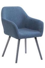 Chaises bleus en hêtre pour la salle à manger