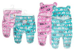 New Baby Newborn Swaddle Wrap Blanket Cute Boys Girls Warm Sleeping Bag Soft