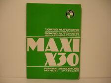 PUCH MAXI X30 1979 MANUEL ATELIER REPARATURANLEITUNG puch maxi x30