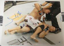 Frank Mir Signed 16x20 Photo BAS Beckett COA UFC 119 KO vs Mirko Cro Cop Picture