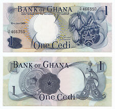 Ghana, 1 Cedi 1969, Pick 10b, aUNC