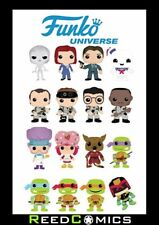 FUNKO UNIVERSE GRAPHIC NOVEL Collects GHOSTBUSTERS, TMNT, X-FILES JUDGE DREDD