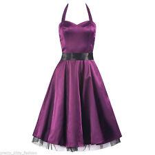 Unbranded Satin Sleeveless Dresses Midi