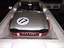 100708117 MINICHAMPS 1:18 FORD ESCORT I TC - XXXV RAC TT SILVERSTONE 1970 NEW