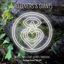 SAD LOVERS & GIANTS - WHERE THE LIGHT SHINES THROUGH (5CD BOX SET) 5 CD NEU