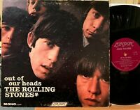 Rolling Stones Out Of Our Heads Vinyl LP MONO London LL 3429 Satisfaction (1965)