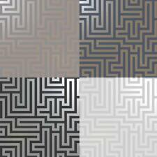 Holden Decor Glistening Maze Metallic Wallpaper 5 Colours