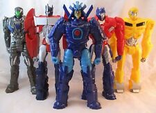 "Transformers Lot of 5 Titan Heroes 12"" Figures Prime Drift Lockdown Bumblebee"