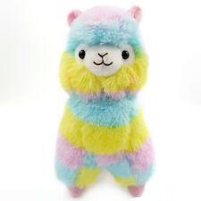 13CM Colorful Kawaii Alpaca llama stuffed animal Soft Plush Toy Doll Gift Cute