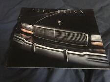 1991 Buick Roadmaster Reatta Riviera Century Color Brochure Catalog Prospekt