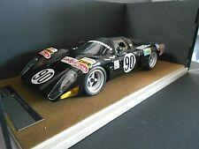 McLAREN M6 GT Le Mans 1981 #90 De Dryver Regout Lubrifilm Resin Tecnomodel 1:18