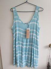 COTTON ON  size M  (14 )  Blue White  Mini SUMMER Skirt. w/TAGS Ret. $29.95