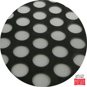 Mild Steel Perforated Sheet 2m x 1m x 2mm R10 T14 Bin 49 - 500120069
