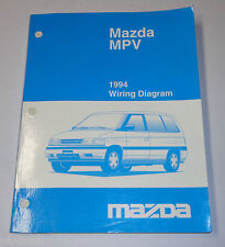 Werkstatthandbuch Workshop Manual Mazda MPV Elektrik / Wiring Diagram, 1994