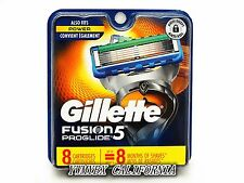 Gillette Fusion5 Proglide Razor Refill 8 Cartridges,Original package, #013F