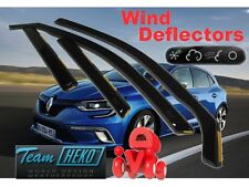 RENAULT MEGANE - IV 2016 -  LTB  5.doors  Wind deflectors 4.pc set HEKO 27196