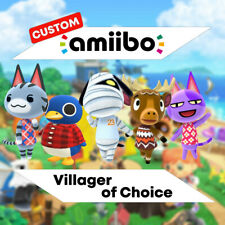 Villager of Choice / Bewohner nach Wahl | Animal Crossing Custom NFC Amiibo Card