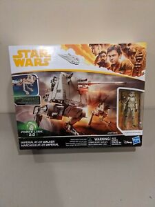 STAR WARS Force Link 2.0 Solo Imperial AT-DT Walker New Sealed