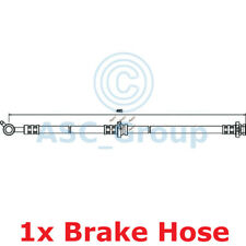 Apec Braking 495mm Disc Brake Caliper Flexible Rubber Hose HOS3578