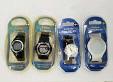 TIME SAVERS + LIFESTYLE TIMEPIECES LOT OF 4 MENS WATCHES QUARTZ ACCURACY NEW