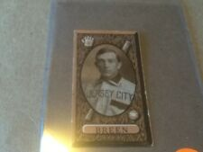 BASEBALL CARD 1912 IMPERIAL TOBACCO C46 DICK BREEN JERSEY CITY #