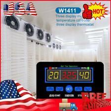 W1411 Digital Thermostat Temperature Humidity Controller Egg Incubator -Usa