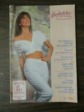 FREDERICK'S OF HOLLYWOOD CATALOG 1991 VOL 72 NO 360 LINGERIE DRESSES FREDERICKS