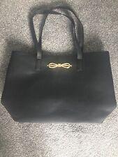 Ladies/womens Black Tote/handbag