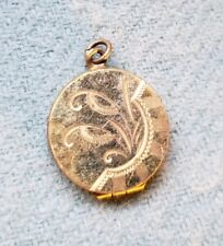 Circa 1900, Rolled Gold Skm Co Antique Victorian Locket