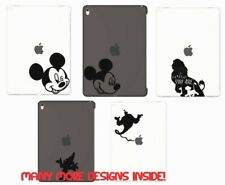 DISNEY IPAD TABLET LAPTOP MAC VINYL STICKER DECAL CHARACTER SILHOUETTE BOTTLE