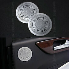 2x Rear Door Speaker Ring Cover Trim For Mercedes-Benz GLE Class W166 C292 16-17