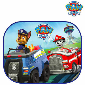 PAW PATROL Kids Baby Children Car Window Sun Shades UV Blinds Mesh Visor 2 pack