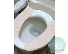 SANRIO MY MELODY KAWAII Adhesion Toilet Seat Cover Washable Hip-friendly JAPAN