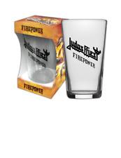 JUDAS PRIEST - FIREPOWER - PINT GLASS - BRAND NEW - MUSIC BGJDP060